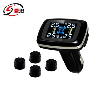 IS愛思 外置點菸口胎壓胎溫偵測器TP-600S(黑色)