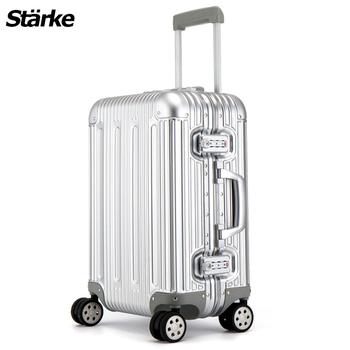 Starke 德國設計 20吋 鋁鎂合金行李箱/登機箱 S系列-璀璨款 ST20C3S -銀色