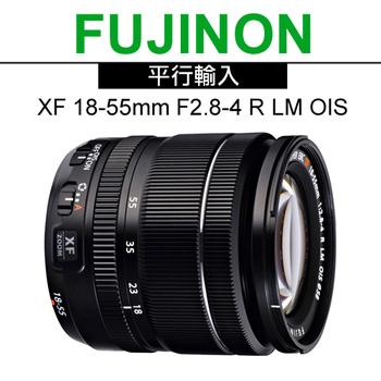 《FUJIFILM》XF 18-55mm F2.8-4 R LM OIS 標準變焦鏡頭*(平輸-彩盒)-送強力大吹球清潔組+專用拭鏡筆(黑色)