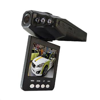 魔鷹 270度翻轉螢幕6顆紅外夜視燈行車紀錄器H198(黑)