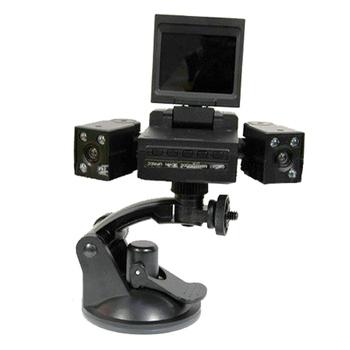 魔鷹 變形金剛雙鏡頭行車紀錄器(黑)