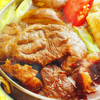 【幸福小胖】 半筋半肉牛肉鍋(1盒(1200g/含肉重350g/盒))