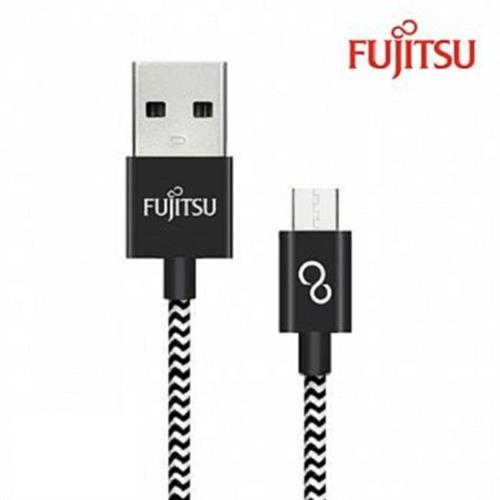富士通 MICRO USB充電線(2M編織線) Y-UM120-2(顏色隨機出貨)