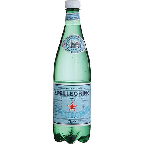聖沛黎洛 氣泡礦泉水(750ml/塑膠瓶)
