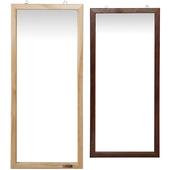 漢萊典雅壁鏡(胡桃木色)
