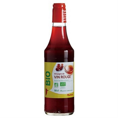 AUCHAN BIO 有機紅酒醋(500ml/瓶)