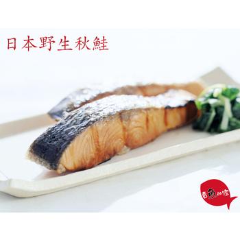 賣魚的家 日本野生秋鮭-單筆下單滿8片免運(200g±10%/片)