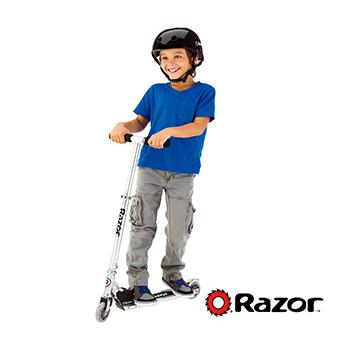 美國 Razor A Scooter 兒童 滑板車 / 平衡車(灰色)