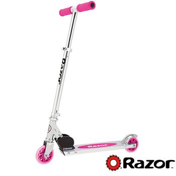 美國 Razor A Scooter 兒童 滑板車 / 平衡車 - 藍色(粉色)