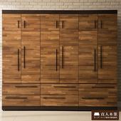 《日本直人木業》BRAC層木240CM衣櫥