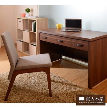 《日本直人木業》WOOD北歐美學書桌椅組