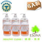 《曜兆ESONA》微泡沫歐洲環保獎濃縮洗碗劑740ml-6入裝