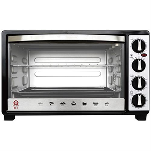 晶工 30L雙溫控不鏽鋼旋風烤箱 JK-7600