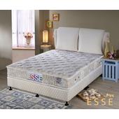 《ESSE御璽名床》馬來西亞乳膠硬式獨立筒床墊5x6.2尺 -雙人