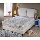 《ESSE御璽名床》馬來西亞三線乳膠硬式獨立筒床墊5x6.2尺 -雙人買再送記憶枕(單人X1 / 雙人以上X2)