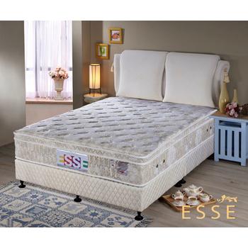 《ESSE御璽名床》馬來西亞三線乳膠硬式獨立筒床墊5x6.2尺 -雙人
