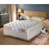 《ESSE御璽名床》馬來西亞2.5硬式乳膠床墊5x6.2尺 -雙人買再送記憶枕(單人X1 / 雙人以上X2)