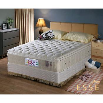 《ESSE御璽名床》馬來西亞三線2.5硬式乳膠床墊6x6.2尺 -雙人加大