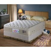 《ESSE御璽名床》馬來西亞三線2.5硬式乳膠床墊3.5x6.2尺 -單人買再送記憶枕(單人X1 / 雙人以上X2)