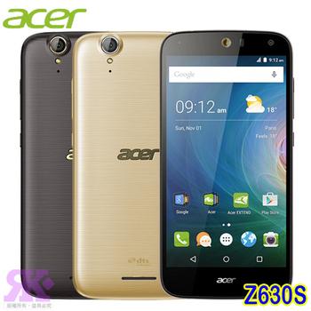 Acer Liquid Z630S 5.5吋八核雙卡4G智慧機(3G/32G)-贈手機/平板支架+奈米矽皂(時尚黑)