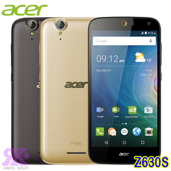 Acer Liquid Z630S 5.5吋八核雙卡4G智慧機(3G/32G)-贈手機/平板支架+奈米矽皂(貴氣金)
