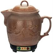 《婦寶》3.6L陶瓷彩釉土龍藥膳壺