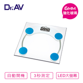 《Dr.AV》超精準 電子體重計(PT-2005)