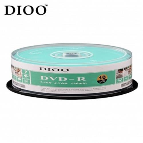 DIOO 16X DVD-R 10入布丁桶D-MDD014(顏色隨機出貨)
