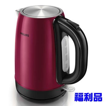 飛利浦 1.7L不銹鋼煮水壺 HD9322 (福利品)