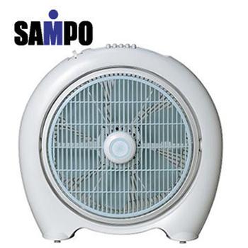 聲寶 sampo 【一級福利品】14吋定時箱扇 SK-LC14B(白色)
