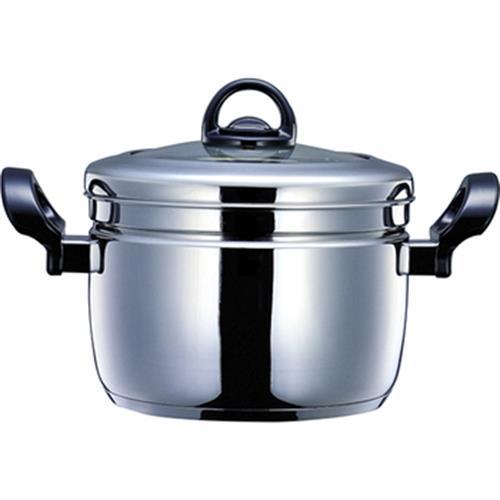 鍋寶 不銹鋼蒸煮鍋(26cm/雙耳)