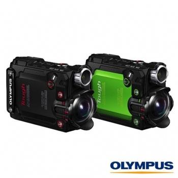 Olympus Stylus TG-Tracker Tough (公司貨) 贈SD64G 高速卡(黑)