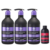 《台塑生醫》晶極潤澤洗髮精(580g*3入)加贈控油抗屑洗髮精100g*1