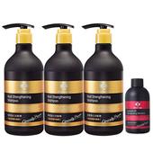 《台塑生醫》髮根強化洗髮精(580g*3入)加贈控油抗屑洗髮精100g*1