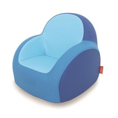 《Dwinguler康樂》康樂Dwinguler兒童單人沙發(藍)(45*48.5*47cm)