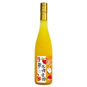 醋桶子 果醋禮盒-蘋果蜂蜜醋600ml/瓶(蘋果蜂蜜醋x1)