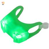 《月陽》MB時尚防水双LED青蛙燈警示燈超值2入(L622)(隨機出貨)