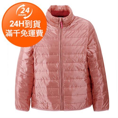 IN 女童科技羽絨外套- 150cm(粉色)