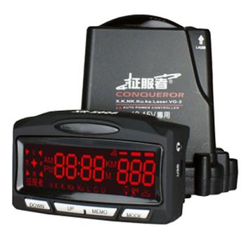 《征服者》征服者 GPS XR-5008 紅色背光模組雷達測速器
