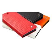 《MOXIE》防電磁波真皮編織手機皮套 | iphone6/6s 手機殼 掀蓋(iphone6/6s 橘)