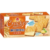 《義美》蘇打餅夾心-奶油口味(144g/盒)