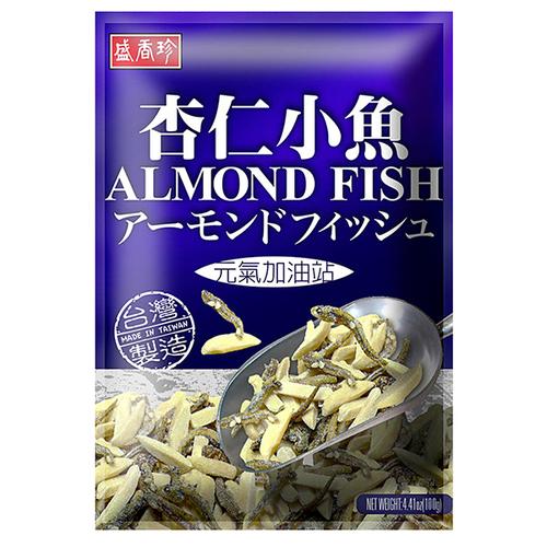 《盛香珍》杏仁小魚(100g/包)