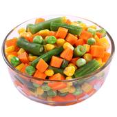 《幸美生技》歐盟有機認證-進口急凍蔬菜(活力四色 250g/包)