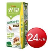 《光泉》珍穀堅果牛乳(200ml*24包/箱)