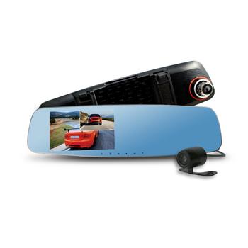 CARSCAM 行車王 CARSCAM行車王 CR-10 190度WDR雙鏡頭行車記錄器(贈16G記憶卡)(CR-10)