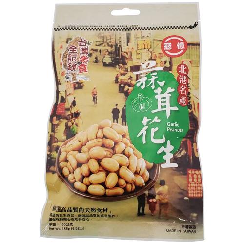 台灣美食全記錄 蒜茸花生(185g/包)