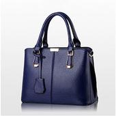 《L. Elegant》氣質甜美斜跨單肩手提包 (共二色)(藍色)