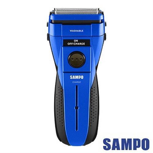 聲寶 勁能水洗式雙刀頭電鬍刀 EA-Z1503WL(藍紅隨機出貨)