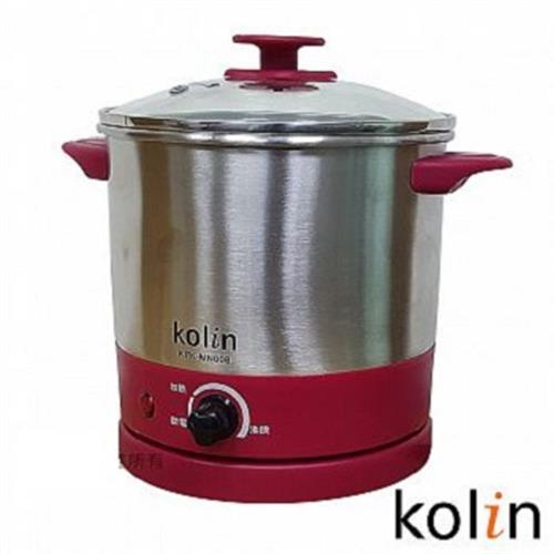 歌林 不銹鋼蒸煮美食鍋2.0L KPK-MN008