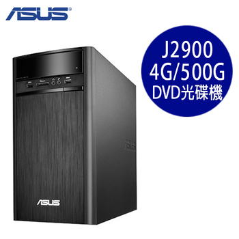 ASUS華碩 K31AN Intel J2900四核 4G記憶體 500G優選文書電腦(K31AN-0041A290UMD)